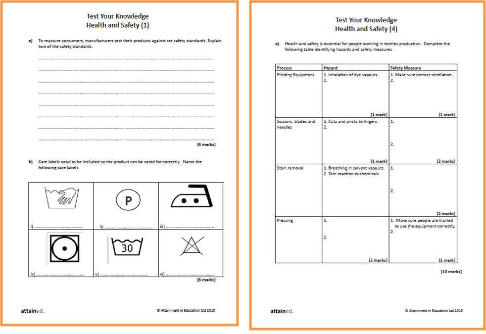 Coursework project worksheet