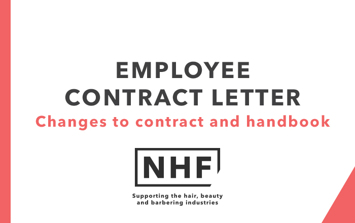 Employment Contract Template Letter - NHF