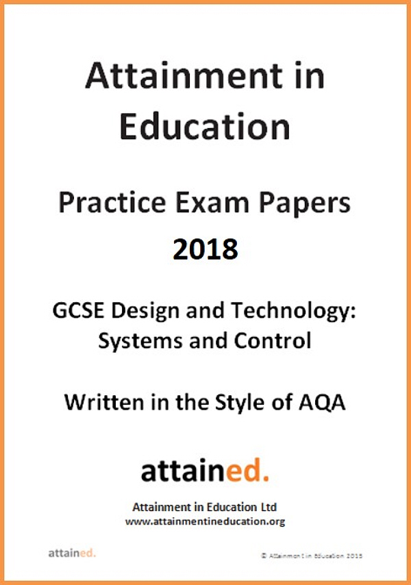 systems and control gcse coursework Gcse design and technology: systems and control technology for certification from june 2014 onwards (version 10) design and technology is a practical subject area which requires the application of knowledge and.